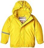 CareTec Kinder Wasserdichte Regenjacke (Verschiedene Farben), Gelb (Yellow 324), 74