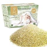 Waschpulver für Babykleidung/Neugeborene und Empfindliche Haut mit Olivenseife, für Waschmaschinen und Handwäsche   600gr